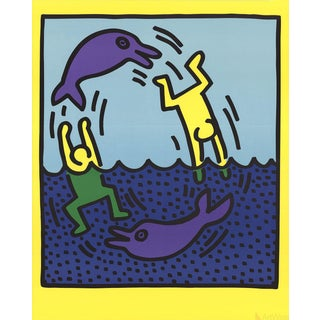 Keith Haring Untitled (Delphine,1983)-1989 Poster