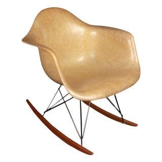 Vintage Charles Eames Rope Edge Rocker Chair