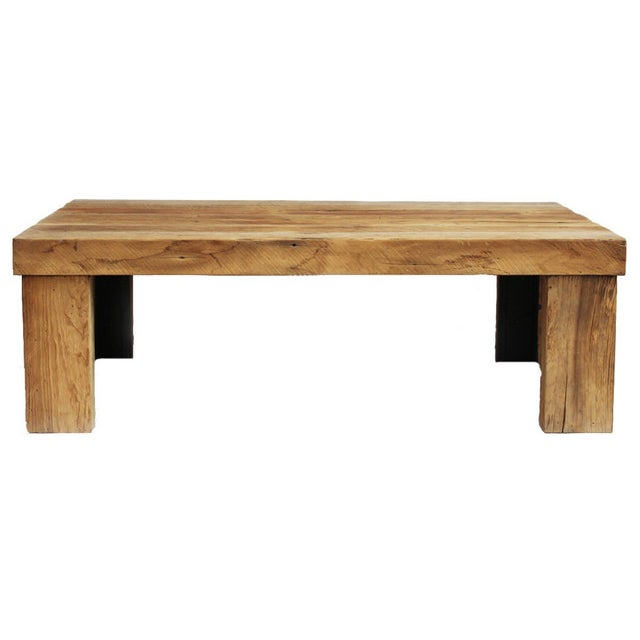 Reclaimed Oak Coffee Table Chairish