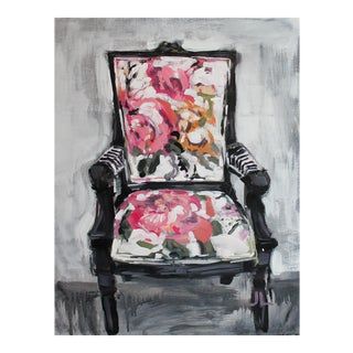 Impressionist Chair Acrylic Painting