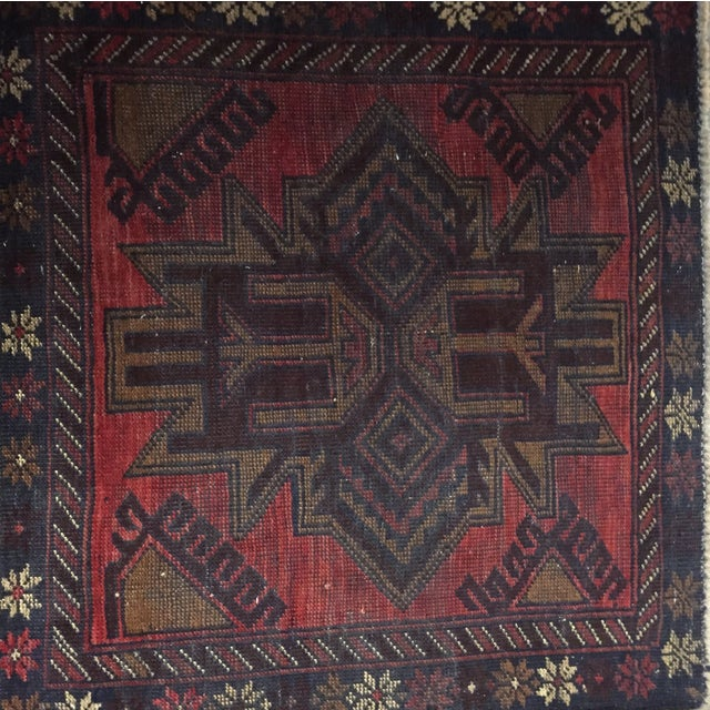Balluchi Persian Rug - 2′7″ × 2′8″ - Image 3 of 7