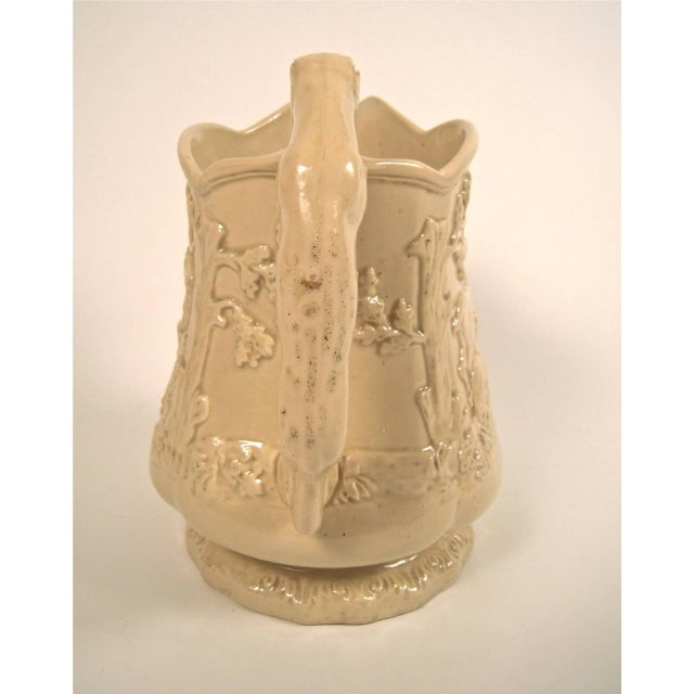 Large 19th Century American Stag and Doe Pitcher with Hound Dog Handle - Image 6 of 8