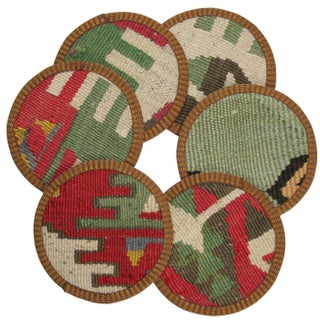Kalcılar Kilim Coasters - Set of 6