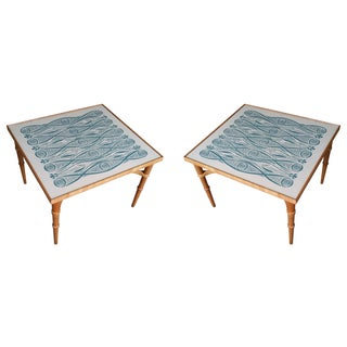 John Van Koert for Drexel Side Tables - A Pair