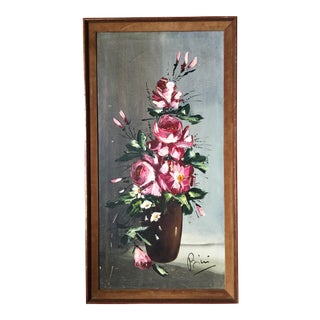'Flowers in a Vase' Painting