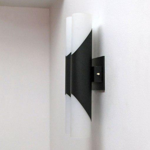Pair of German Double Wall Lights by Neuhaus Leuchten - Image 5 of 10