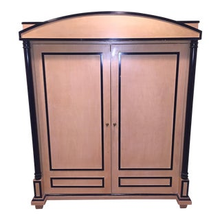 Art Deco Oak Armoire