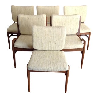John Keal for Brown Saltman Dining Chairs - Set of 6