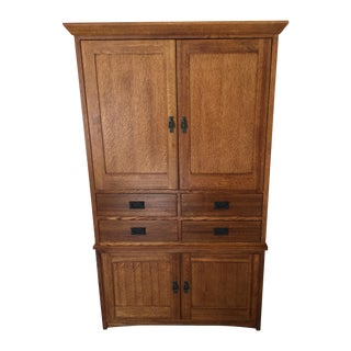 Restoration Hardware Mission Style Armoire