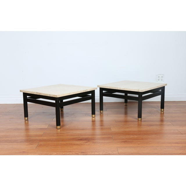 Lacquered Side Tables - A Pair - Image 2 of 11