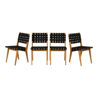 Mid-Century Klaus Grabe Style Dining Chairs - Set of 4