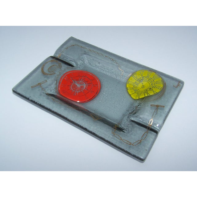 Higgins Mid-Century Art Glass Ashtray - Image 8 of 10