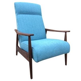 Blue Accent Chairs Vintage Amp Used Chairish