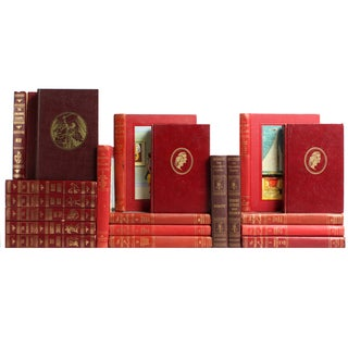 Red Children's Library Books - S/20
