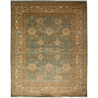 "Traditional Hand-Knotted Rug - 8'3"" X 10'1"""