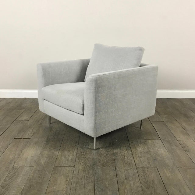 Image of Clean Lined Modern Armchair
