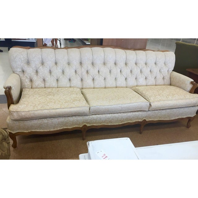 Broyhill Chesterfield French Provincial Sofa - Image 2 of 3