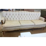Image of Broyhill Chesterfield French Provincial Sofa