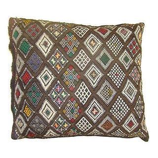 Moroccan Berber Sham with Diamond Design