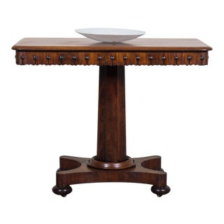 Antique English William IV Mahogany Table circa 1835