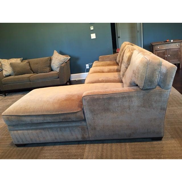 Stickley 2 Piece Sectional Sofa Chairish