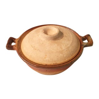 Vintage Studio Pottery Bowl With Lid