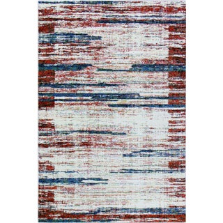 Flawless Multi Color Abstract Rug - 5'3'' x 7'7''