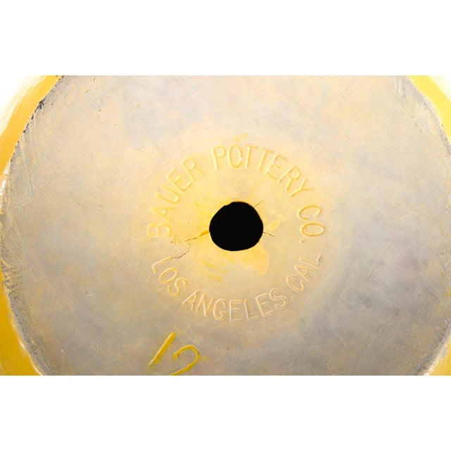 Bauer Original 1915 Indian Pot, Glazed Yellow - Image 9 of 9
