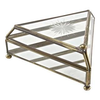Cut-Glass Curio Box