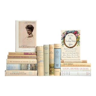 Tan & Pastel British History & Culture - Set of 15