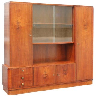 Large French Art Deco Bookcase