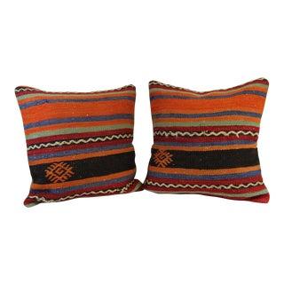 Handmade Kilim Pillowcases - Pair
