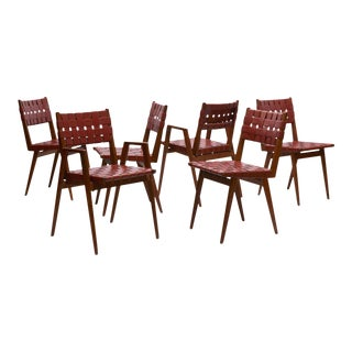 A set of 6 dining chairs by Mel Smilow