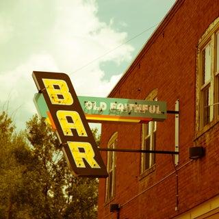 """""""Old Faithful Bar"""" Photograph"""