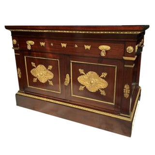 Empire Cabinet in Mahogany