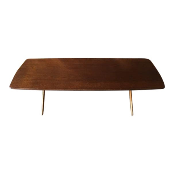 Mid-Century Danish Coffee Table by Ole Wanscher - Image 1 of 10