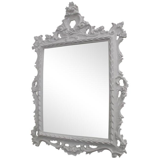 White baroque mirror chairish for White baroque style mirror