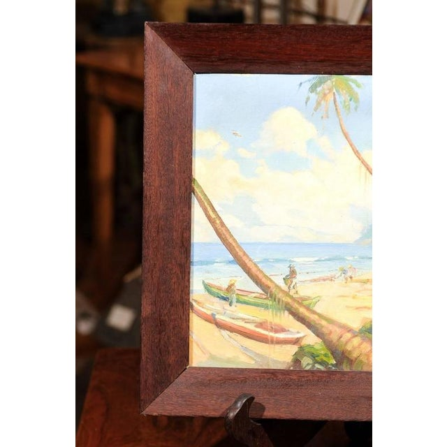 Island Landscape Oil Painting - Image 4 of 6