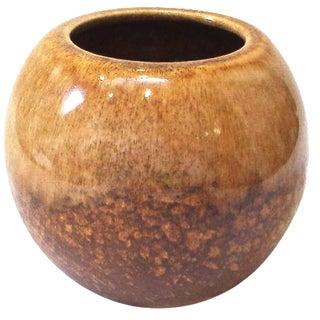 Mid-Century Ceramic Bulbous Planter