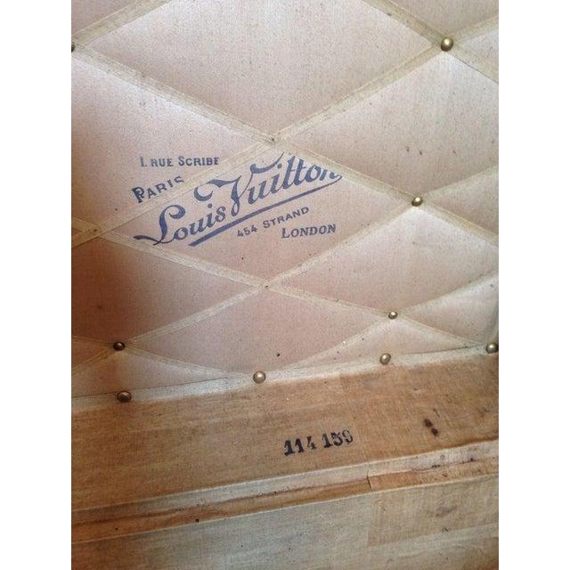 Image of Vintage Louis Vuitton 3/4 Travel Steamer Trunk