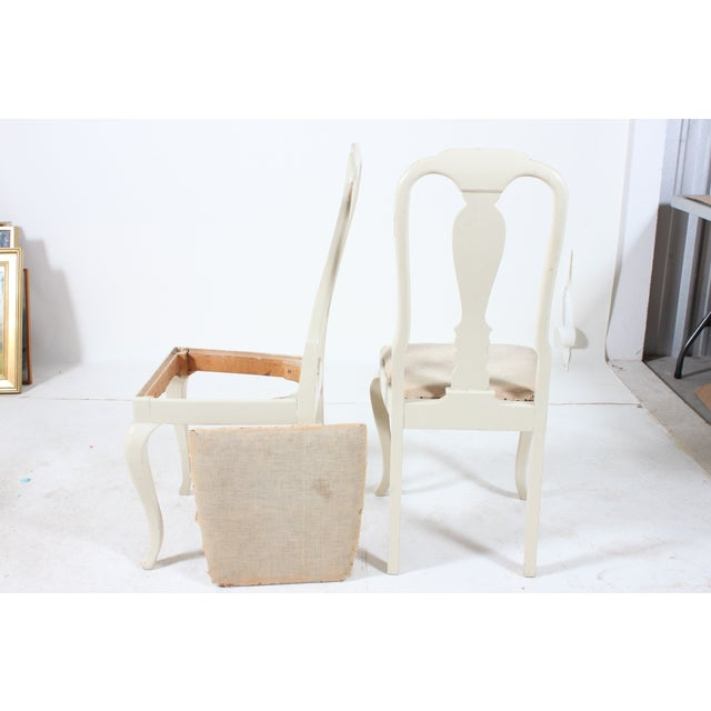 French Side Chairs with Fiddle Back - A Pair - Image 3 of 3