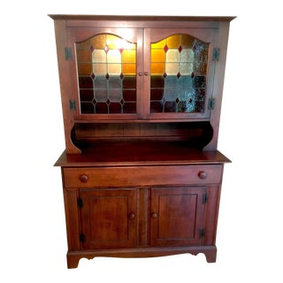 Heywood-Wakefield Old Colony Sideboard With Hutch