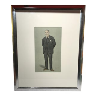 Framed Men's Original Spy Print