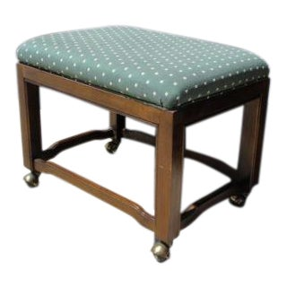 Drexel Campaign Foot Stool Ottoman