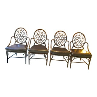 Maguire Crackled Ice Chairs - Set of 4
