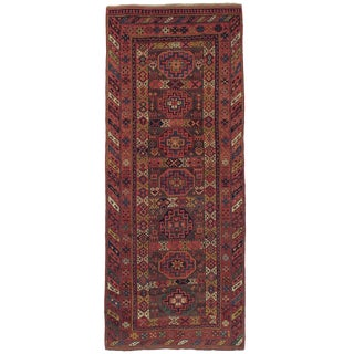 Antique Kurdish Long Rug