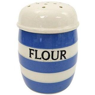 Vintage English Cornishware Flour Shaker