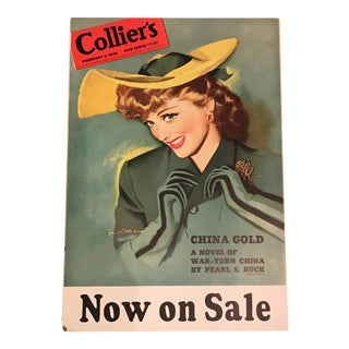 Vintage Collier's Magazine Poster
