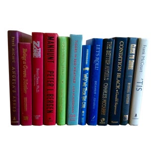 Display Hardcover Books - Set of 12