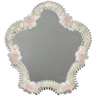 Venetian Glass Table Top Mirror